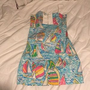 Size 2 Lilly Pulitzer Strapless Dress
